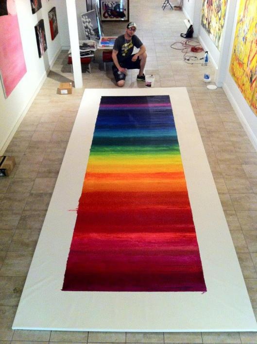 Crayola Spectrum in Suspension, Joseph Bottari