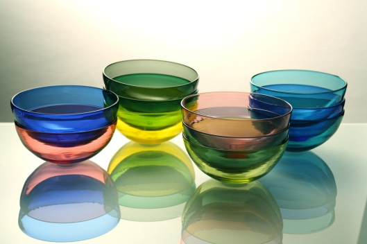 Transparent Bowls, Steve Hagan